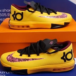 Nike KD 6 Peanut Butter And Jelly Kids 6y